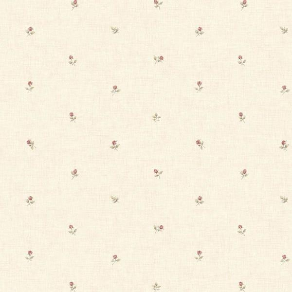 Norwall Rose Buds Wallpaper CG28855