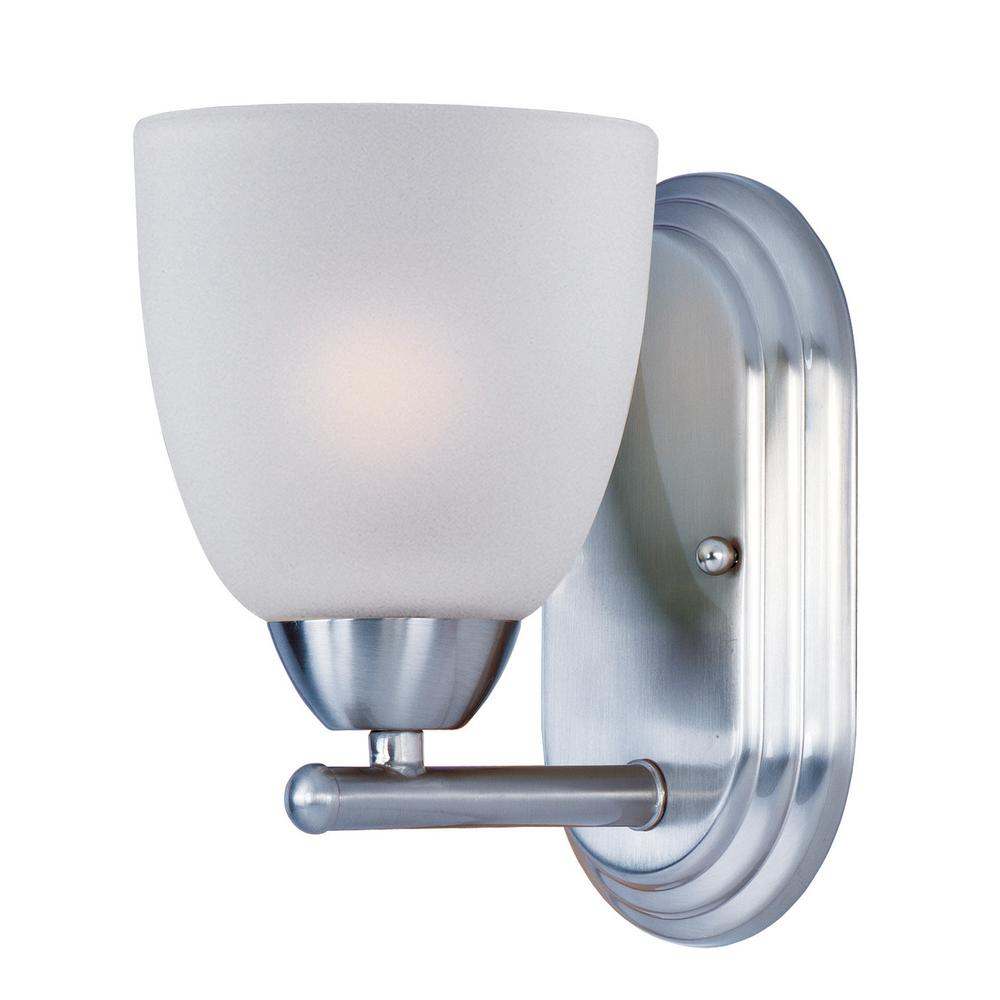 Axis 1-Light Polished Chrome Wall Sconce