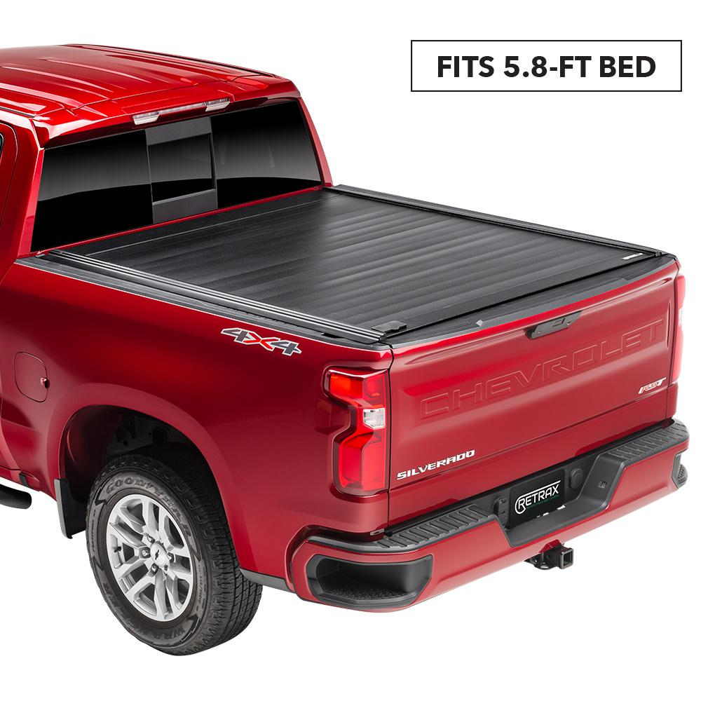 Retrax Pro Mx Tonneau Cover 19 New Body Style Chevy Silverado Gmc Sierra 5 9 Bed W Out Stake Pockets Standard Rail 80481 The Home Depot