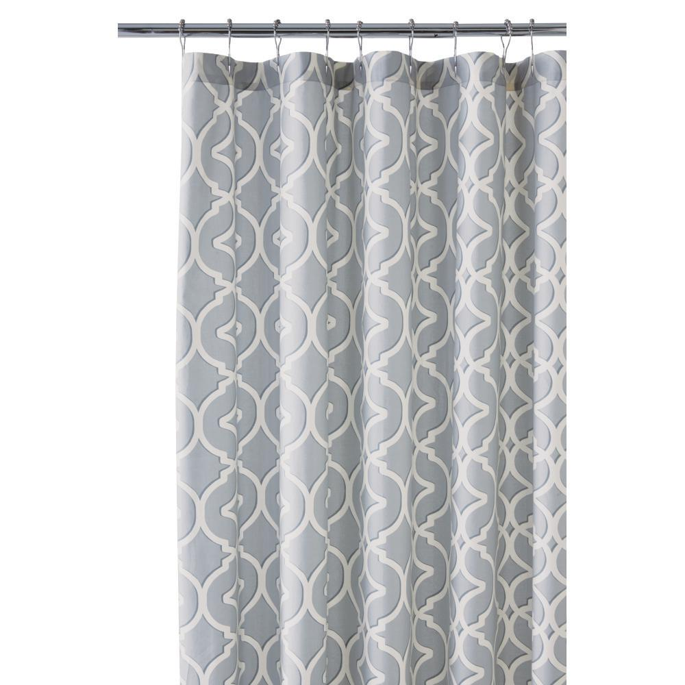 Shower Curtain In Pewter