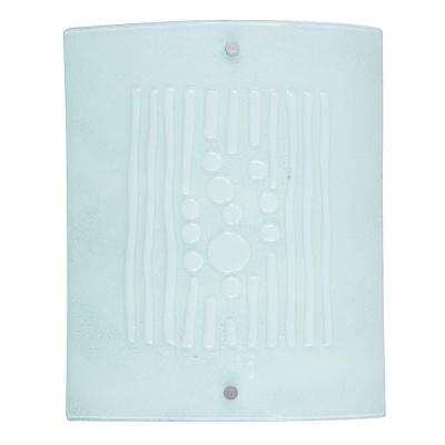 Snow 7.5-Watt Silver Integrated LED Wall Sconce