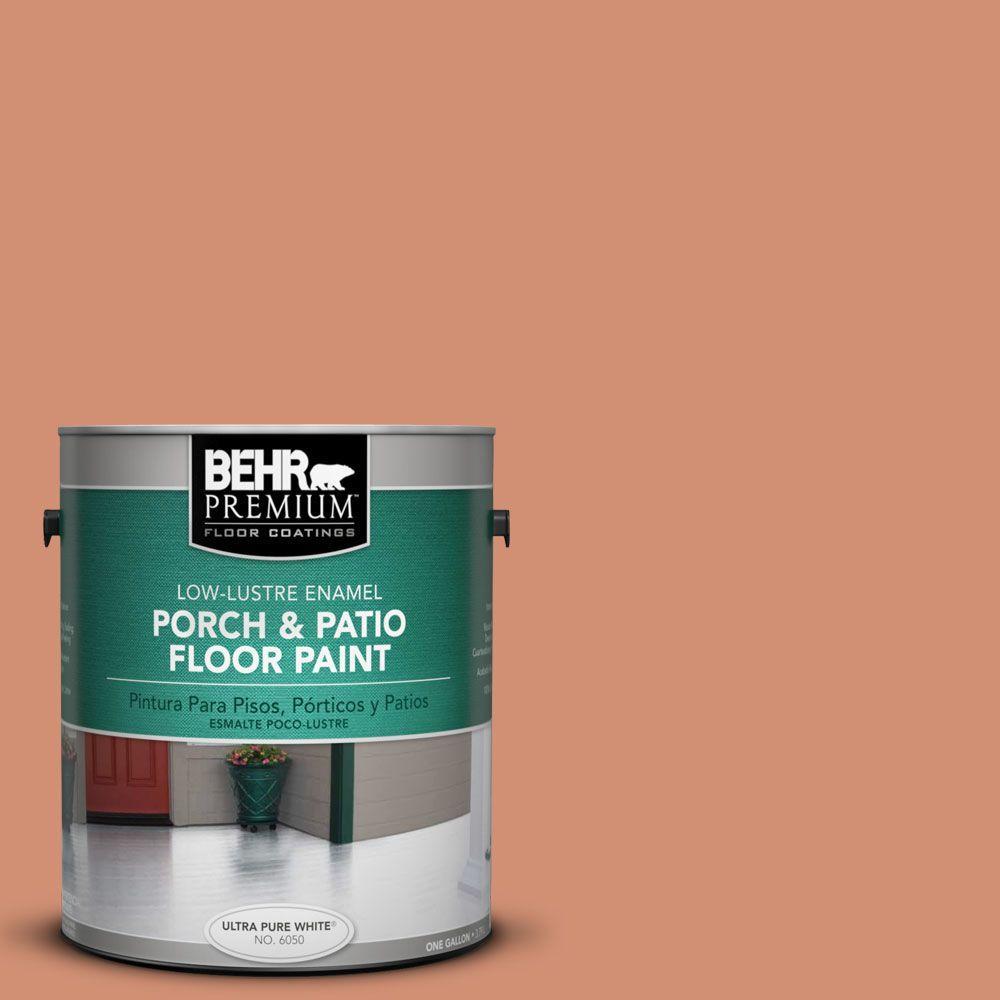 1 gal. #PFC-12 Nuevo Terra Low-Lustre Porch and Patio Floor Paint