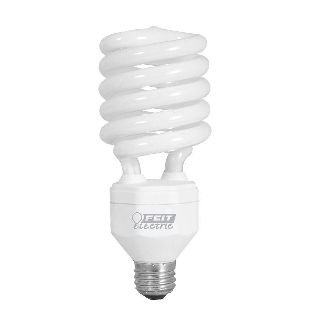 Feit Electric 150W Equivalent Daylight (6500K) Spiral CFL Light Bulb (12-Pack)