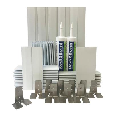 4 in. Thick Silicone System Glass Block Installation Kit (20 Block Kit for 8 in. x 8 in. x 4 in. or Smaller Glass Block)
