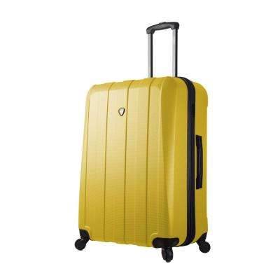 Tosetti 28 in. Gold Hardside Spinner Suitcase