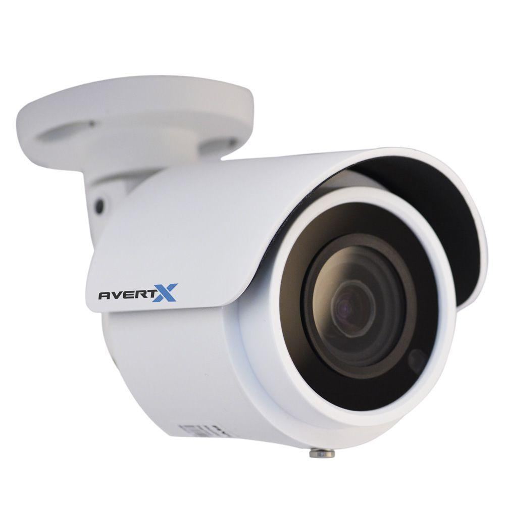 AvertX PRO 4MP Indoor/Outdoor IP Mini Bullet Camera with Night Vision (2 Pack)