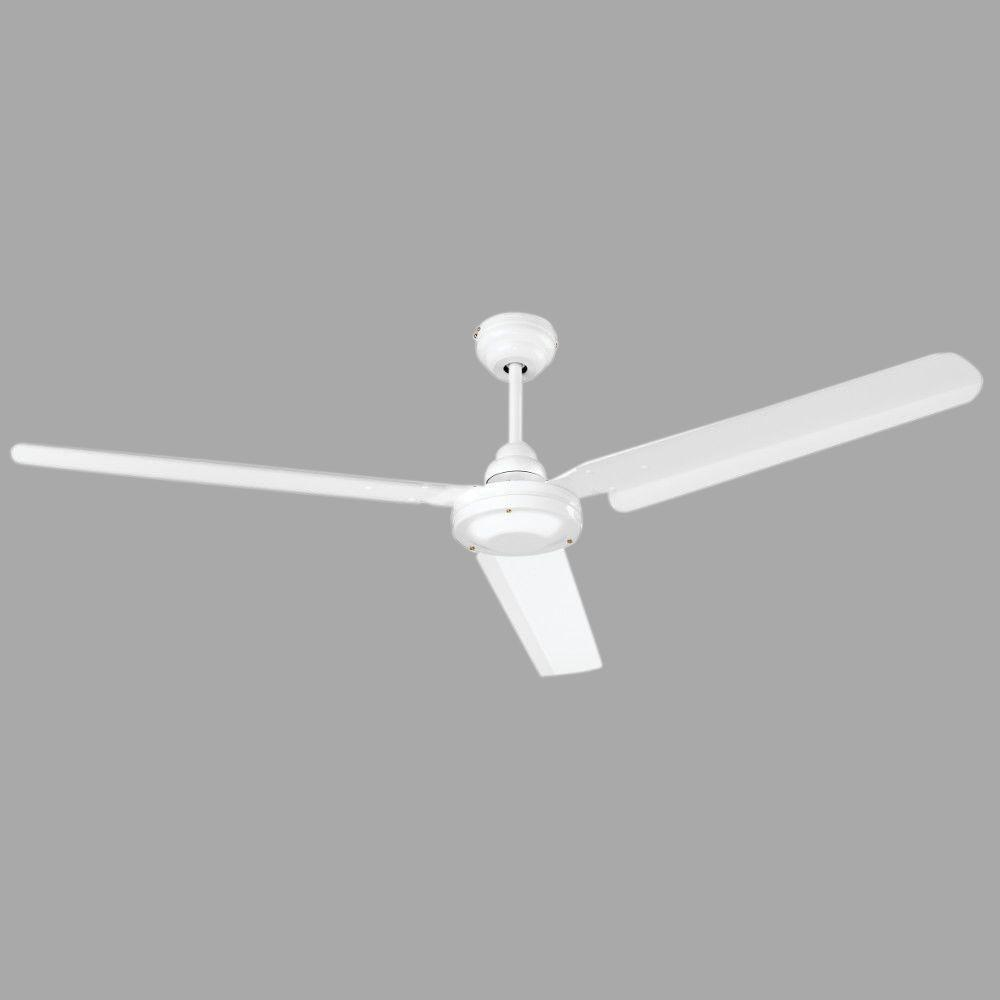 NuTone Commercial Series 56 in. Indoor White Ceiling Fan