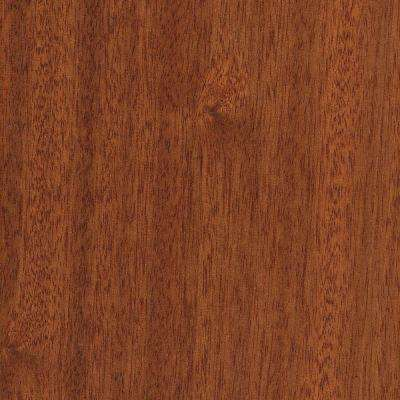 Take Home Sample - Matte Chamois Mahogany Click Lock Hardwood Flooring - 5 in. x 7 in.