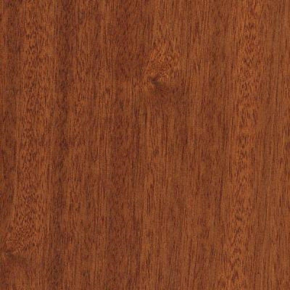 null Take Home Sample - Matte Chamois Mahogany Click Lock Hardwood Flooring - 5 in. x 7 in.