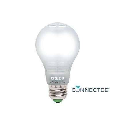 Connected 60W Equivalent Daylight A19 Dimmable LED Light Bulb