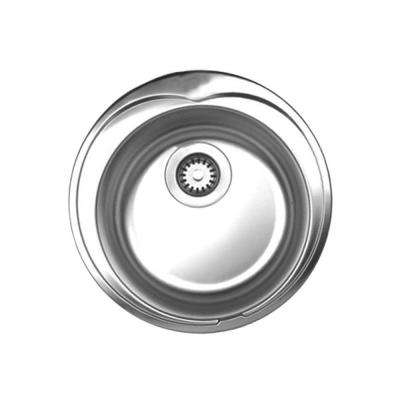 Noah's Collection Drop-in Brushed Stainless Steel 20 in. 0-Hole Single Bowl Prep Sink