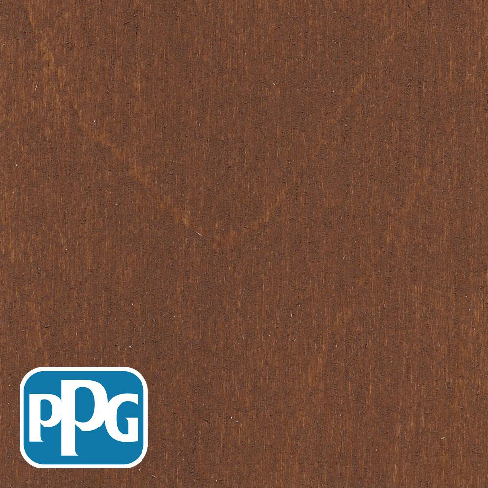 PPG TIMELESS 1 gal. TST-12 Russet Semi-Transparent Penetrating Oil Exterior Wood Stain