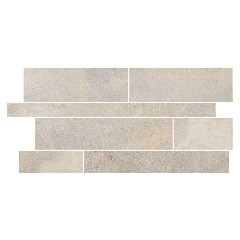 Marazzi Developed By Nature Pebble 12 In X 24 10 Mm Glazed