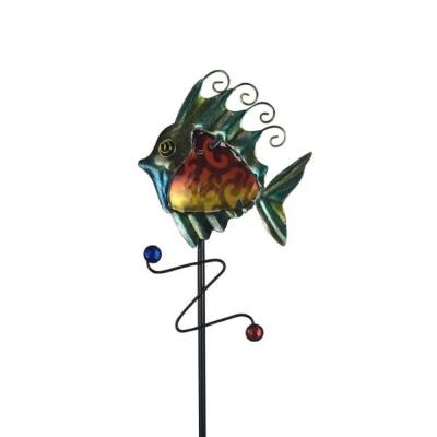 Sun Fish Solar Stake Light
