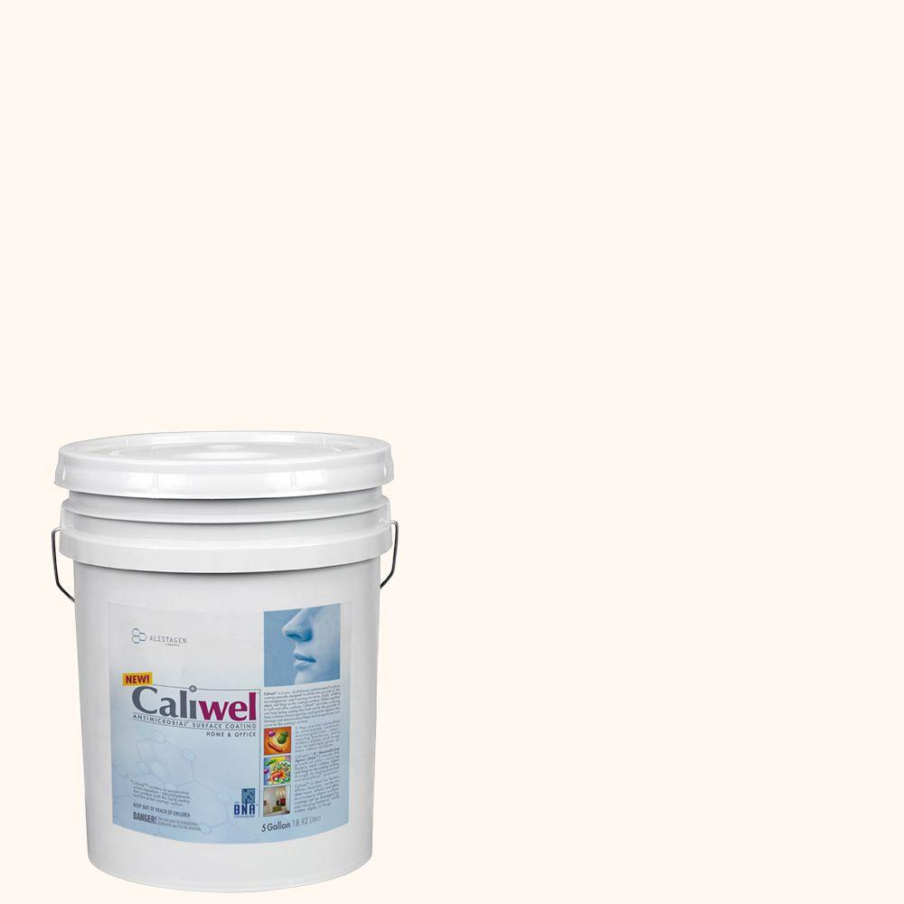 5 gal. Trusted Fortress Off-White Latex Premium Antimicrobial and Anti-Mold