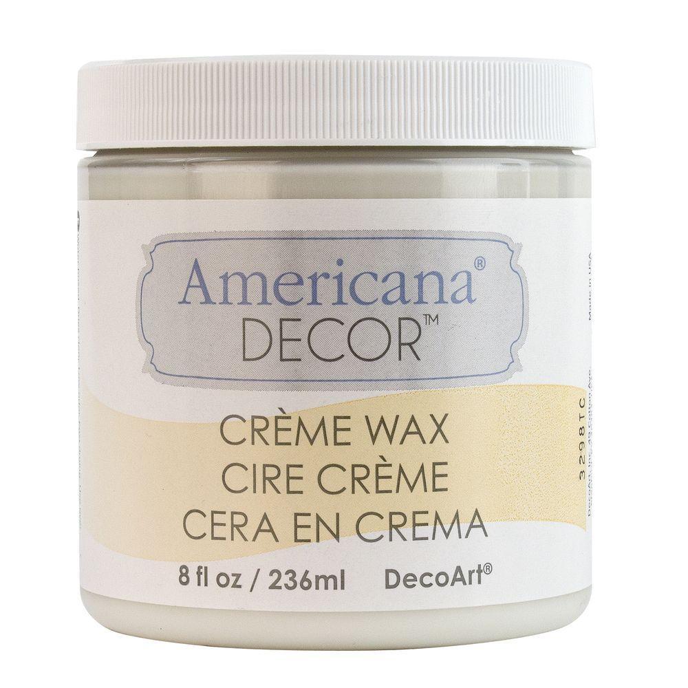 Americana Decor 8 Oz Clear Creme Wax