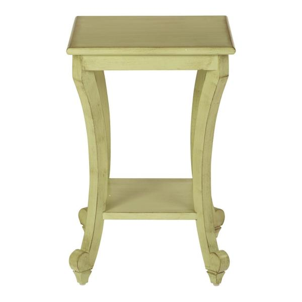OSP Home Furnishings Daren Antique Celadon Accent Table DAR6504-YM20