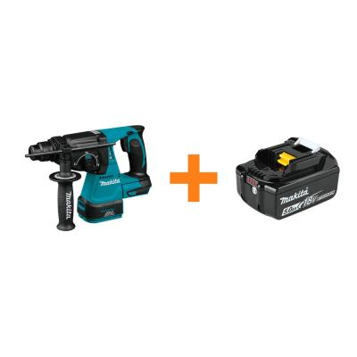 18V LXT Lithium-Ion 1 in. Brushless SDS-Plus Concrete/Masonry Rotary Hammer Drill with Bonus 18V LXT Battery Pack 5.0Ah