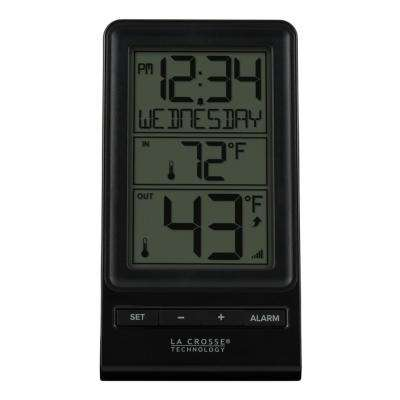 Wireless Digital Thermometer with Time and Calendar