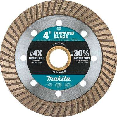 4 in. Turbo Rim Diamond Blade for General Purpose