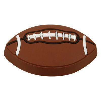 Kids Corner Football 1-3/4 in. x 1-3/16 in. Multi-Colored Metal Cabinet Knob