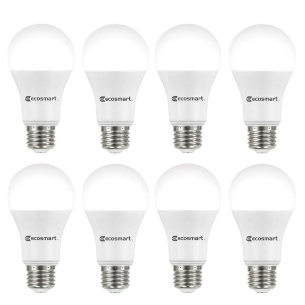 75-Watt Equivalent A19 Dimmable ENERGY STAR LED Light Bulb Bright White (8-Pack)