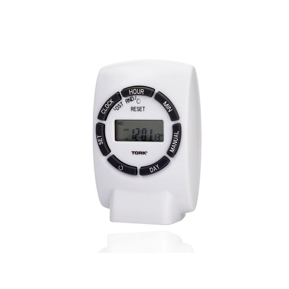 white matte tork timers 454e 64_1000 honeywell 7 day programmable timer switch for lights and motors Appliance Switch Honeywell at panicattacktreatment.co