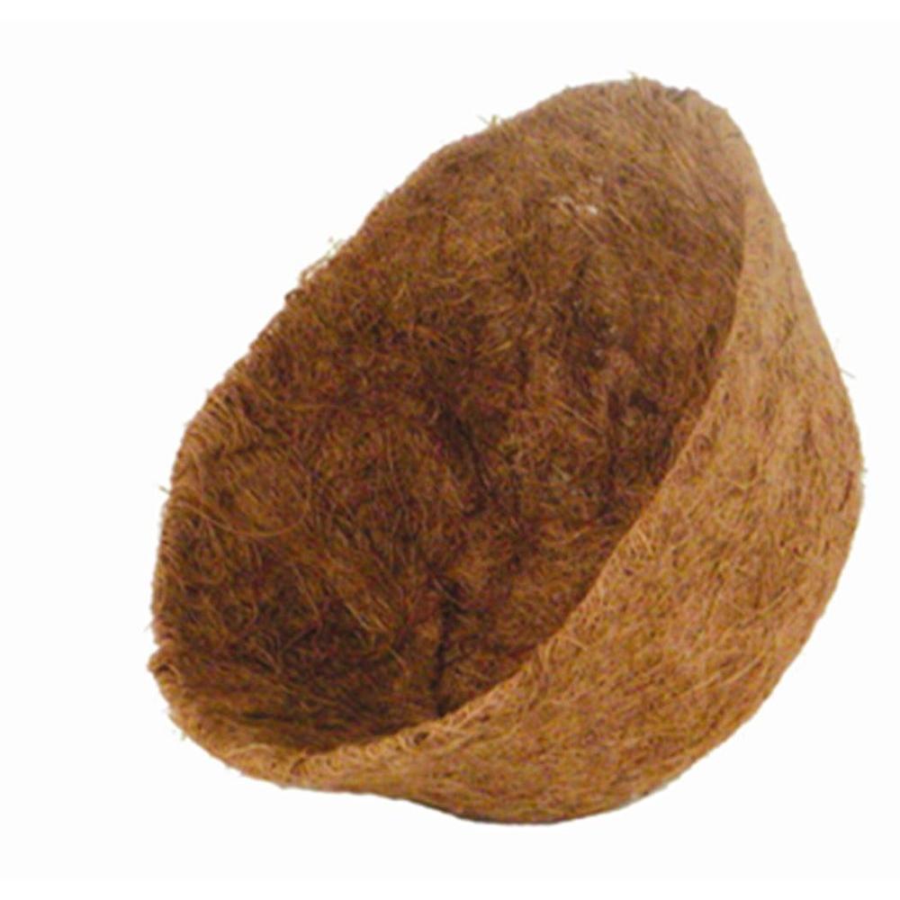 16 in. AquaSav Coconut Liner for hanging baskets