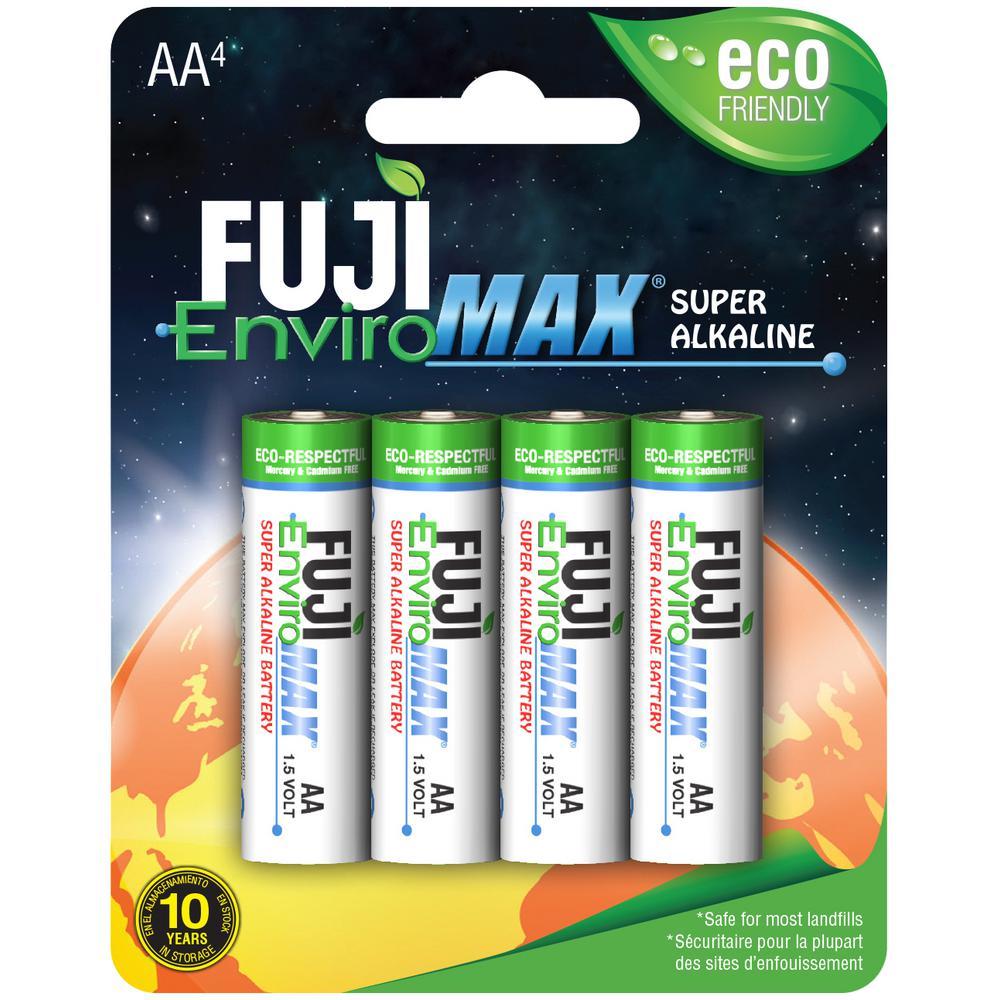 Super Alkaline AA Battery (4-Pack)