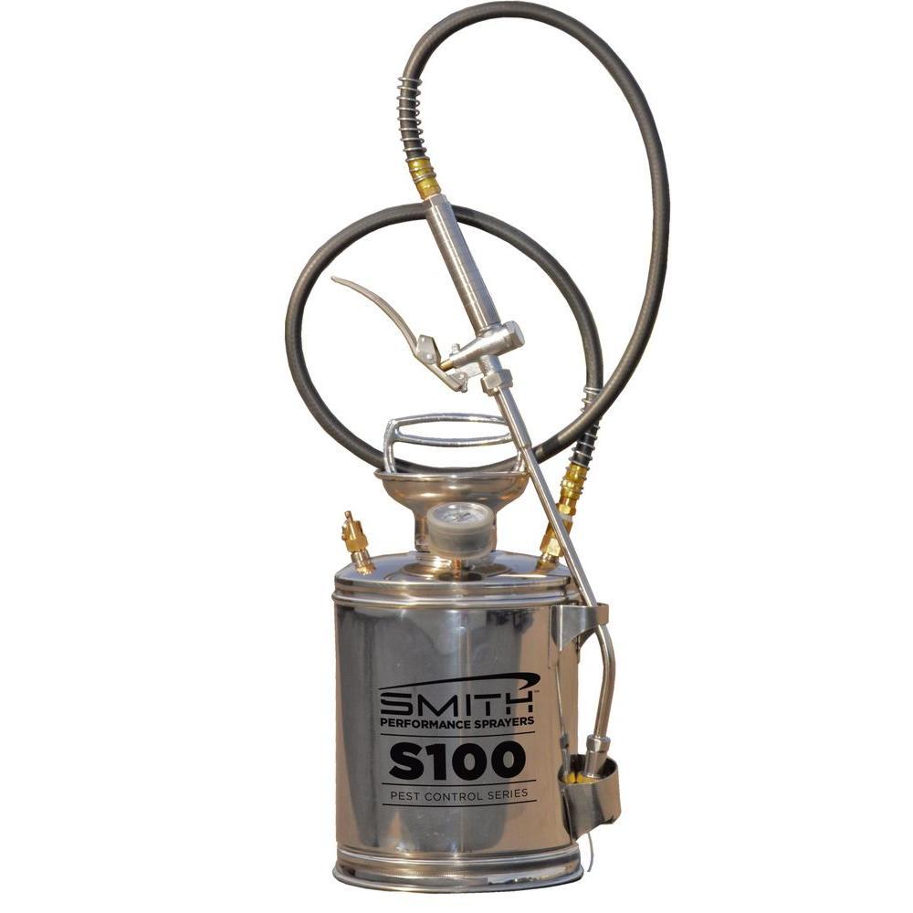 Smith Performance Sprayers 1 Gal. Pest Control Stainless Steel Sprayer
