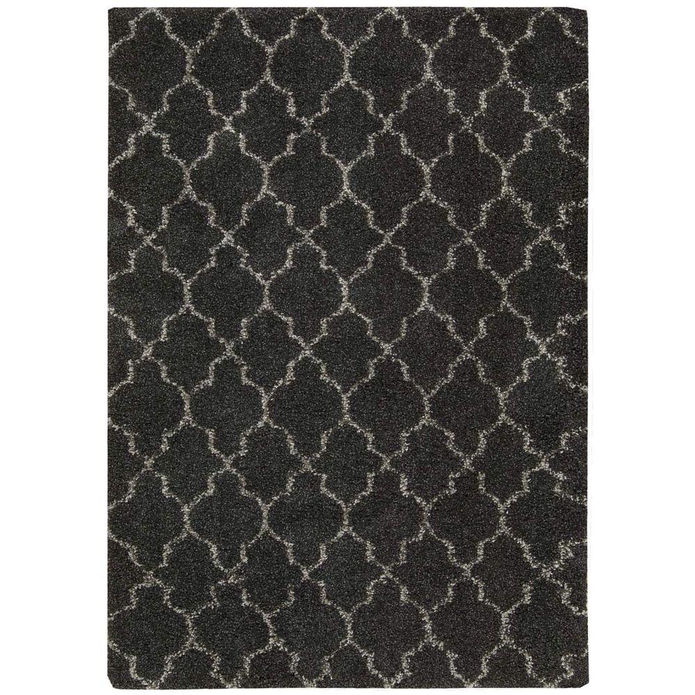 Nourison Amore Charcoal 7 ft. 10 in. x 10 ft. 10 in. Area Rug