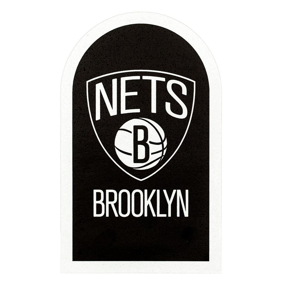 NBA Brooklyn Nets Mailbox Door Logo Graphic