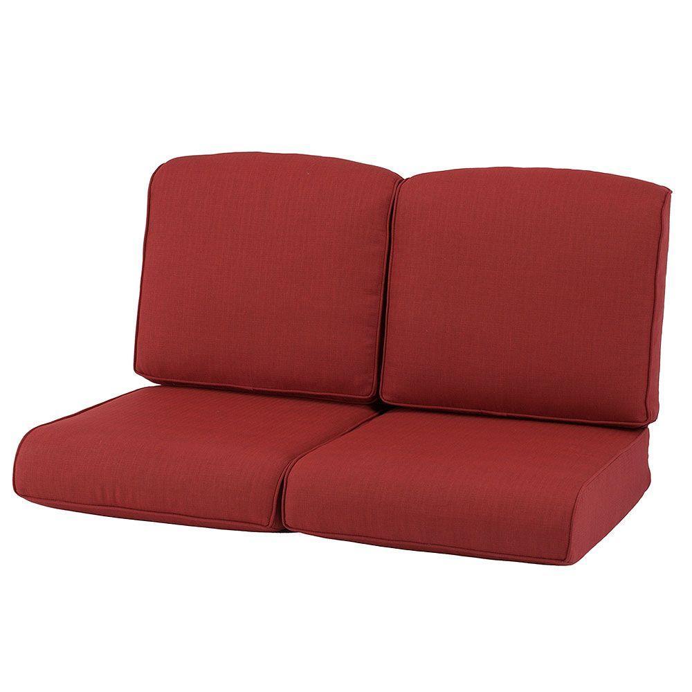 Martha Stewart Living Cedar Island Replacement Outdoor Loveseat Cushion