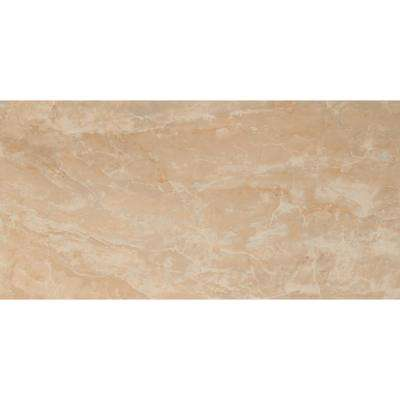Onyx Crystal 12 in. x 24 in. Polished Porcelain Floor and Wall Tile (16 sq. ft. / case)