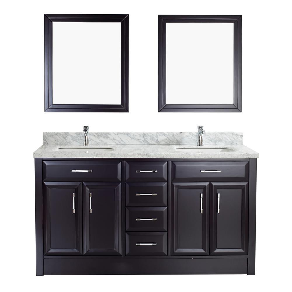 Gray - Studio Bathe - White - Bathroom Vanities - Bath - The Home Depot