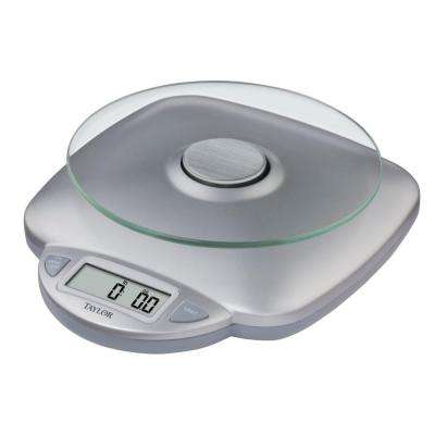 Digital Kitchen Scale in Silver