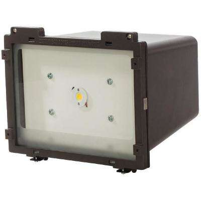 22-Watt Bronze Outdoor Integrated LED Area Light
