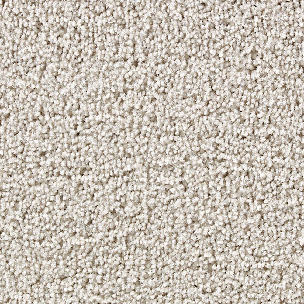 Martha Stewart Living Beechwood Potters Clay - 6 in. x 9 in. Take Home Carpet Sample-DISCONTINUED