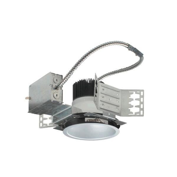 NICOR 6 in. White (4000K) Recessed Architectural LED Downlight Kit with Housing and LED Trim with 2800 Lumens
