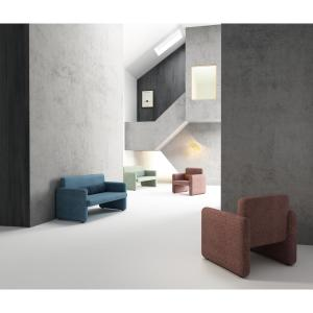 Terrific Cozyblock Ross Series Blue Woven Fabric Upholstered Modern Andrewgaddart Wooden Chair Designs For Living Room Andrewgaddartcom