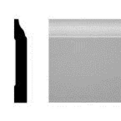 LWM 634 7/16 in. x 3 in. x 144 in. Pine Primed Finger-Jointed Base Moulding Pro Pack (10-Pieces)