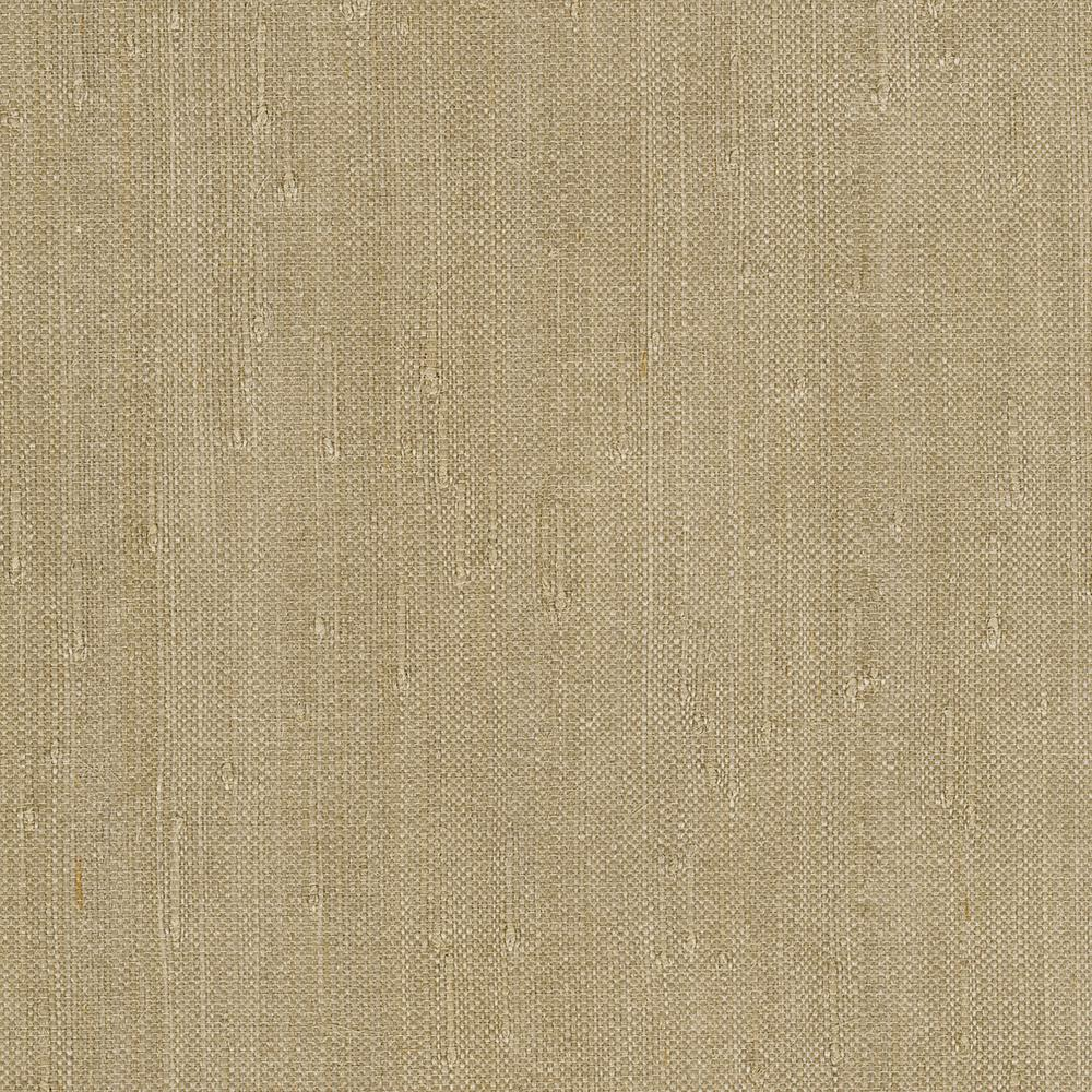 Your Questions About Grasscloth Wallpaper Answered: Kenneth James Alexey Grey Grasscloth Wallpaper Sample-2622