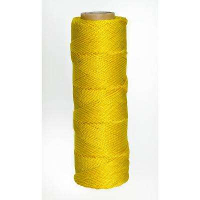 350 ft. Yellow Twisted Nylon Line #15