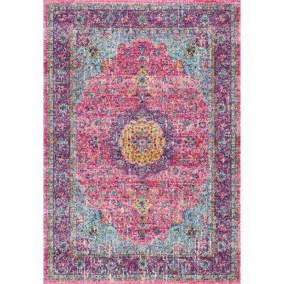 Verona Pink 2 ft. 8 in. x 8 ft. Runner Rug