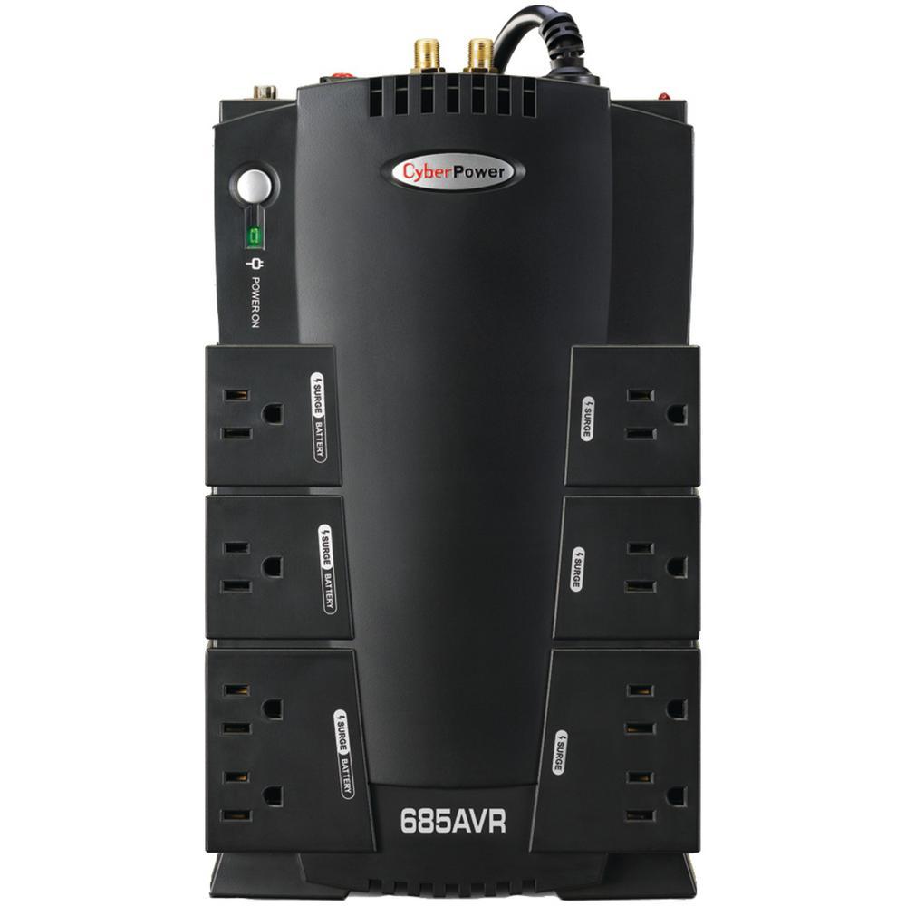 8-Outlet AVR UPS System