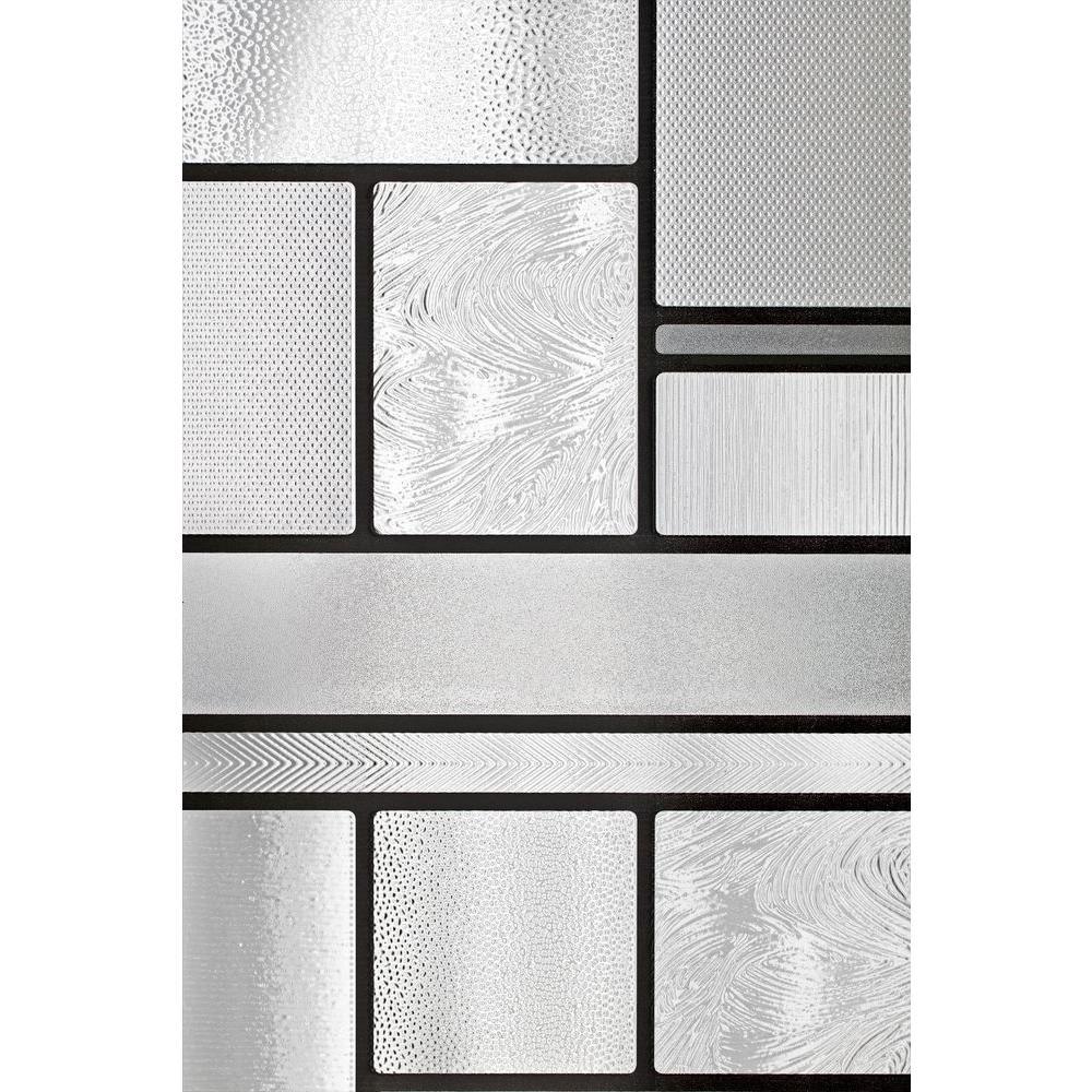 36 in. W x 72 in. H Skyline Decorative Window Film