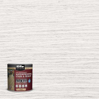 #ST-210 Ultra Pure White Semi-Transparent Weatherproofing Wood Stain