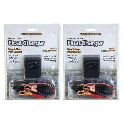 2-Piece Automatic Battery Float Charger