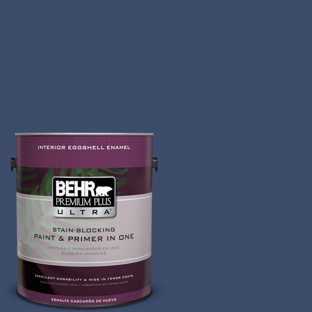 1 gal. #HDC-SM16-08 Blackberry Cobbler Eggshell Enamel Interior Paint