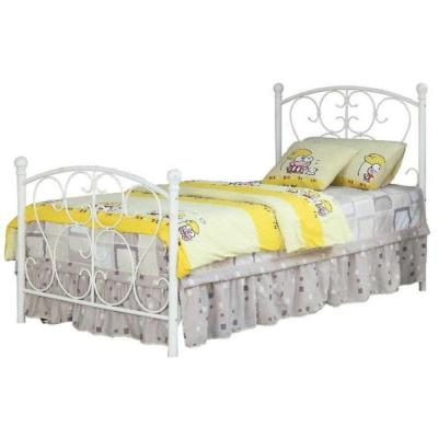 Alice White Twin Bed